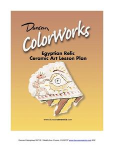 Egyptian Relic: Ceramics Lesson Lesson Plan