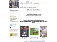 Eleanor Everywhere Lesson Plan