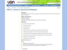 Electricity and Magnets Lesson Plan