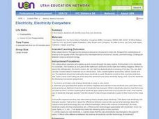 Electricity, Electricity Everywhere Lesson Plan