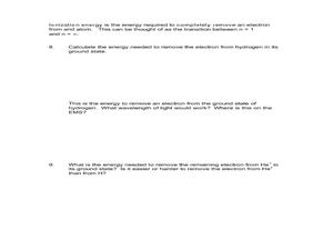 Worksheets Electromagnetic Radiation Worksheet electromagnetic radiation and bohr atom 11th 12th grade atom