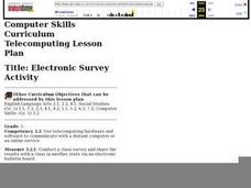 Electronic Survey Activity Lesson Plan