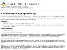 Elementary Mapping Activity Lesson Plan