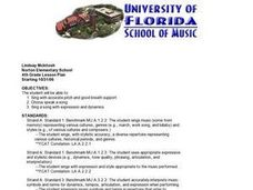 Elementary Music Lesson Plan
