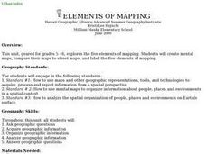 Elements Of Mapping Lesson Plan