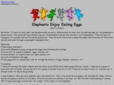 Elephants Enjoy Eating Eggs Lesson Plan