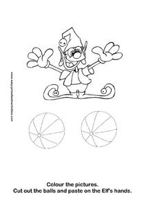 Elf Picture Worksheet
