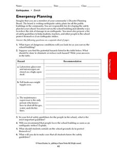 Emergency Planning Worksheet