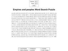 Empires And Peoples Worksheet