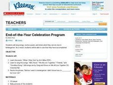 End-of-the-Year Celebration Program Lesson Plan
