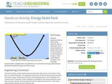 energy skate park 9th 12th grade worksheet lesson planet. Black Bedroom Furniture Sets. Home Design Ideas