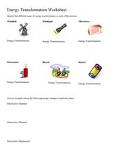 energy transformation worksheet 5th 8th grade worksheet lesson planet. Black Bedroom Furniture Sets. Home Design Ideas