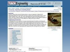 Engineering - Solid Rock to Building Block Lesson Plan