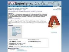 Engineering: Which Roof Is Tops? Lesson Plan