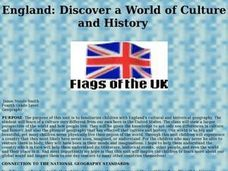 England: Discover a World of Culture and History Lesson Plan