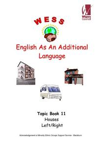 English as an Additional Language: Topic Book 11: Houses Worksheet