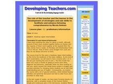 Enhancing Listening Comprehension Lesson Plan