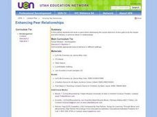 Enhancing Peer Relationships Lesson Plan