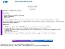 Enhancing Positive Feelings Lesson Plan