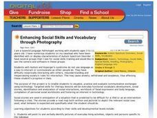 Enhancing Social Skills and Vocabulary through Photography Lesson Plan