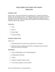 Environment: Fishing and Property Rights Lesson Plan