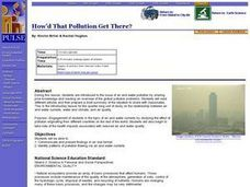 Environment: How'd That Pollution Get There? Lesson Plan