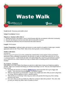 Environment: Waste Walk Lesson Plan