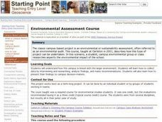 Environmental Assessment Course Lesson Plan