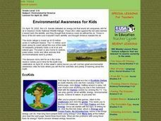 Environmental Awareness for Kids Lesson Plan
