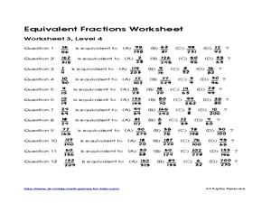 math worksheet : equivalent fractions activities year 4  fractions equivalent  : Equivalent Fractions Worksheet 6th Grade
