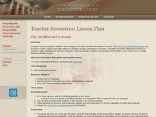 ERA: Its Effect on U.S. Society Lesson Plan
