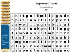 Ergonomic Issues Worksheet