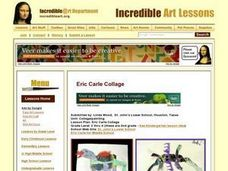 Eric Carle Collage Lesson Plan