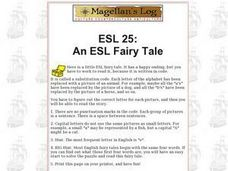 ESL 25: An ESL Fairy Tale Worksheet