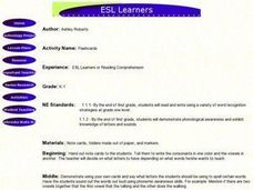 ESL Learners Lesson Plan