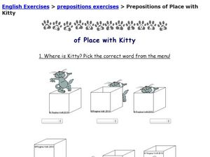 esl printable worksheets prepositions of place 1000 images about english on pinterest. Black Bedroom Furniture Sets. Home Design Ideas