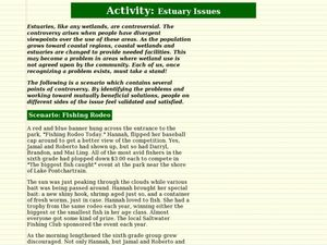 Estuary Issues Lesson Plan