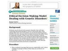 Ethical Decision Making Model Lesson Plan