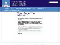 Ethics in Congress Lesson Plan