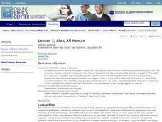 Ethics in the Science Classroom Lesson Plan