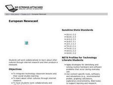 European Newscast Lesson Plan