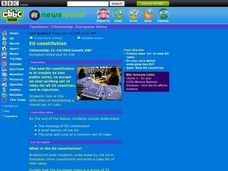 European Union Constitution Lesson Plan