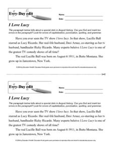 Printables Daily Edit Worksheets daily edit worksheets davezan bloggakuten