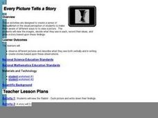Every Picture Tells A Story 2 Lesson Plan