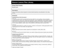 Every Vote Counts Lesson Plan