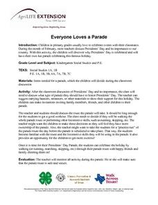 Everyone Loves a Parade Lesson Plan