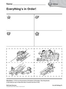 Everything's in Order Worksheet