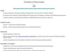 Evolution of Observation Lesson Plan