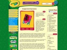 Exaggerated Expressions Lesson Plan