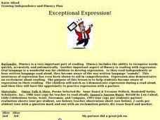 Exceptional Expression! Lesson Plan
